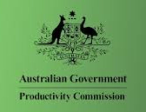 CFA publishes submission to the Productivity Commission