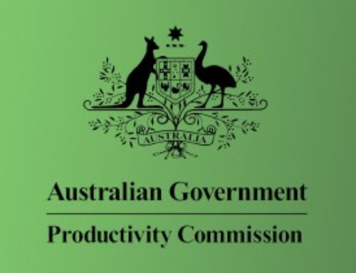 PRODUCTIVITY COMMISSION SAYS IT'S TIME TO INVEST IN CONSUMER RESEARCH AND ADVOCACY