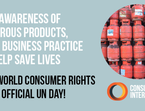 CFA Call on Government to Support World Consumer Rights Day